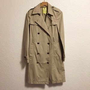 QMack Double Breasted Trench Coat
